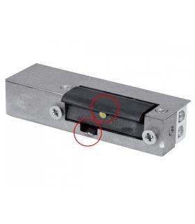 RYGIEL ELEKTROMAGNETYCZNY (ELEKTROZACZEP) RE-24G2 asymetryczny z pamięcią i wyłącznikiem 12V AC/DC