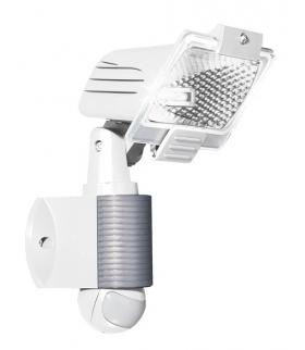 HALOGEN Z CZUJNIKIEM RUCHU PIR EURA ML-08B2 zewnętrzny biały ~230V 120W