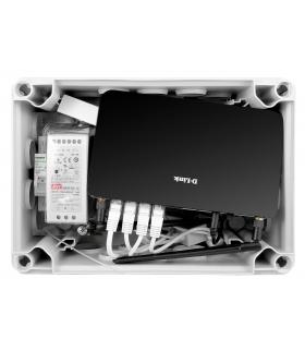 MODUŁ MONTAŻOWY EURA MM-03EU do systemów monitoringu, router LTE, zasilacz DC 12 V, 4x adapter PoE