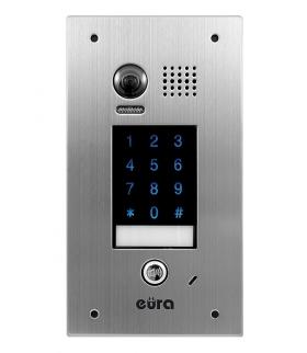 KASETA ZEWNĘTRZNA WIDEODOMOFONU EURA VDA-74A5 V.2 2EASY podtynkowa dotykowy szyfrator