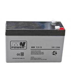 AKUMULATOR MW POWER AGM 12V / 7.2Ah