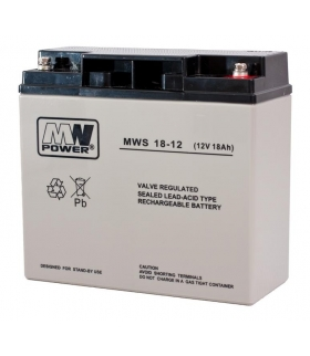 AKUMULATOR MW POWER AGM 12V / 18Ah