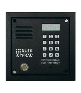 PANEL CYFROWY CYFRAL PC-2000D czarny z Dallas