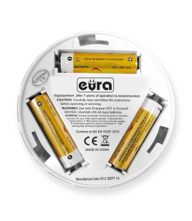 Czujnik czadu Eura CD-28A2 - wyświetlacz LCD, bateryjny