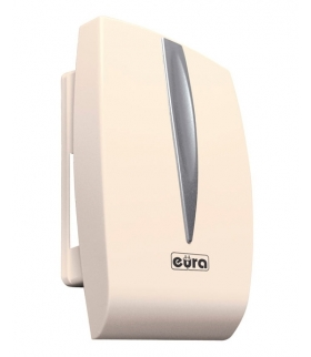 GONG DRZWIOWY DWUTONOWY EURA DB-40G7 ~230V AC kremowy