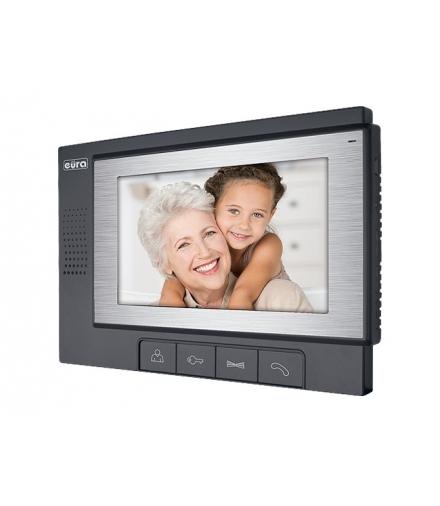 MONITOR EURA VDA-02A3 ekran 7 do wideodomofonu VDP-22A3 PLUTON