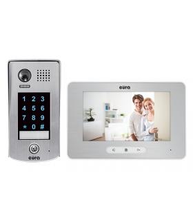 WIDEODOMOFON EURA VDP-39A5 2EASYkolor 7 dotykowy szyfrator i ekran, pamięć obrazów, nagrywanie