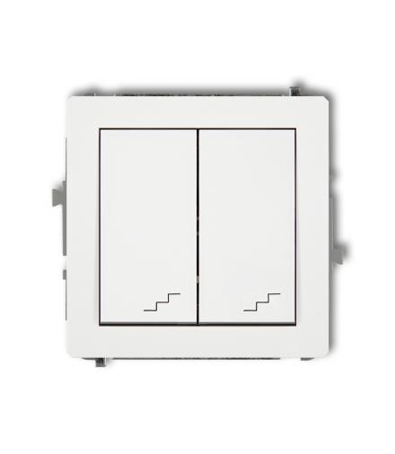 DECO Mechanizm łącznika podwójnego schodowego Karlik DWP-33