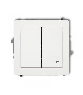 DECO Mechanizm łącznika jednobiegunowego ze schodowym (osobne zasilanie) Karlik DWP-10.2