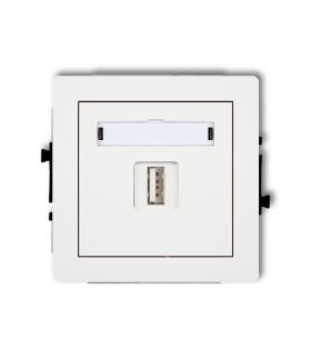 DECO Mechanizm ładowarki USB pojedynczej, 5V, 1A Karlik DCUSB-1