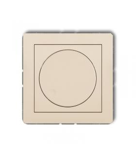 DECO Mechanizm elektronicznego regulatora oświetlenia przyciskowo-obrotowego do lamp LED Karlik 1DRO-2