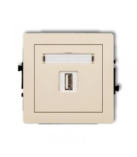 DECO Mechamizm gniazda pojedynczego USB-AA 3.0 Karlik 1DGUSB-5