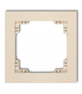 DECO Ramka uniwersalna pojedyncza z tworzywa DECO Soft Karlik 1DR-1