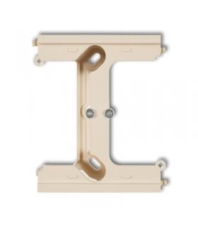 DECO Moduł rozszerzający puszkę natynkową pojedynczą, składaną do ramek wielokrotnych DECO Karlik 1DPU-2