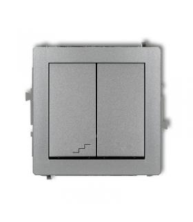 DECO Mechanizm łącznika jednobiegunowego ze schodowym (wspólne zasilanie) Karlik 7DWP-10.1