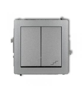 DECO Mechanizm łącznika jednobiegunowego ze schodowym (osobne zasilanie) Karlik 7DWP-10.2