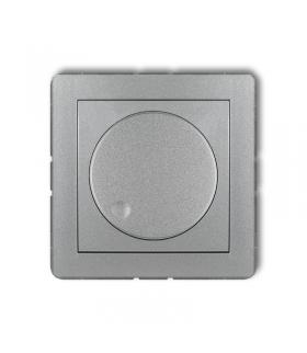 DECO Mechanizm elektronicznego regulatora oświetlenia przyciskowo-obrotowego do lamp LED Karlik 7DRO-2