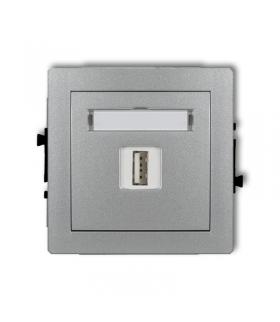 DECO Mechamizm gniazda pojedynczego USB-AA 3.0 Karlik 7DGUSB-5