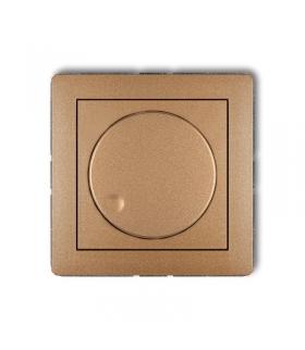 DECO Mechanizm elektronicznego regulatora oświetlenia przyciskowo-obrotowego do lamp LED Karlik 8DRO-2