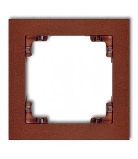 DECO Ramka uniwersalna pojedyncza z tworzywa Karlik 9DR-1