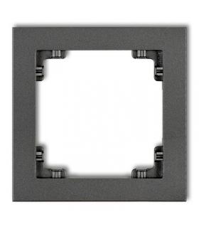 DECO Ramka uniwersalna pojedyncza z tworzywa Karlik 11DR-1