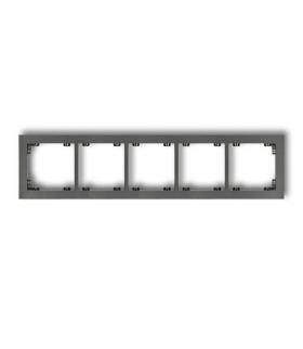 DECO Ramka uniwersalna pięciokrotna z tworzywa Karlik 11DR-5
