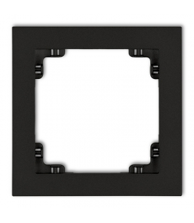DECO Ramka uniwersalna pojedyncza z tworzywa Karlik 12DR-1