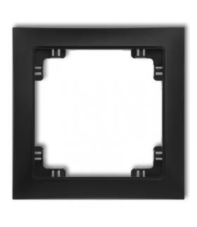 DECO Ramka uniwersalna pojedyncza z tworzywa DECO Soft Karlik 12DRSO-1