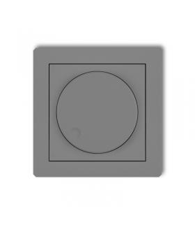 DECO Mechanizm elektronicznego regulatora oświetlenia przyciskowo-obrotowego do lamp LED Karlik 27DRO-2