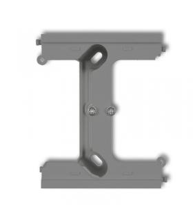 DECO Moduł rozszerzający puszkę natynkową pojedynczą, składaną do ramek wielokrotnych DECO Karlik 27DPU-2