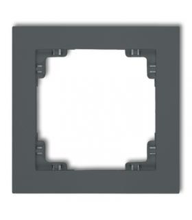 DECO Ramka uniwersalna pojedyncza z tworzywa Karlik 28DR-1