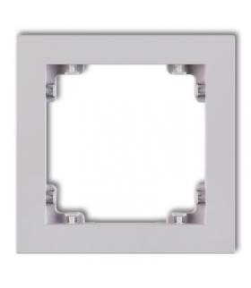 DECO Ramka uniwersalna pojedyncza z tworzywa DECO Pastel Matt Karlik 41DR-1