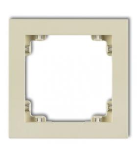 DECO Ramka uniwersalna pojedyncza z tworzywa DECO Pastel Matt Karlik 44DR-1